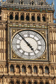 Big Ben clock face extremelly detailed — Foto Stock