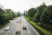 Motorway in Germany — Foto Stock