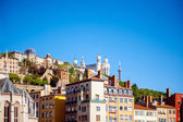 Notre-Dame de Fourviere in Lyon — Stock Photo