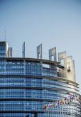 Seat of the European Parliament in Strasbourg — Stock Photo