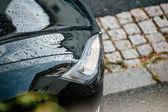 Tesla Model S headlight — Stock Photo