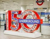 London Tube Anniversary — Foto de Stock