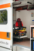 Red Cross - emergence ambulance in Germany — Stock Photo