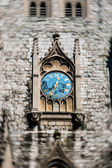 Church clock — Stock Photo