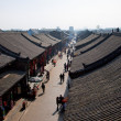 Stock Photo: Ancient Pingyao town, UNESCO world heritage site, China