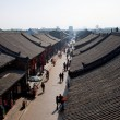 Stockfoto: Ancient Pingyao town, UNESCO world heritage site, China