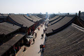 Ancient Pingyao town, UNESCO world heritage site, China — Stock Photo