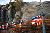 Buddha images in Gal Vihara temple, Polonnaruwa, Sri Lanka — Stock Photo