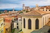 Medieval city of Girona — Stock Photo