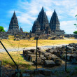 Prambanan hindu temple — Stock Photo