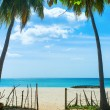 Unspoiled idyllic beach — Stock Photo