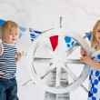 Adorable small mariners — Stock Photo #25391135