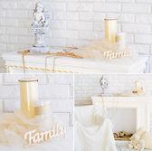 Interior decoration collage — Stock Photo