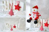 Jul dekoration Detaljer — Stockfoto