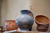 Traditional ceramic jugs — Stockfoto
