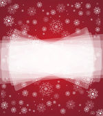 Merry christmas background and happy new year snowfall — Stock Vector