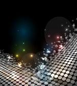 Disco Licht Sternen abstrakt Tanz — Stockvektor
