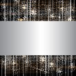 Disco light stars abstract dance banner — Stock Vector