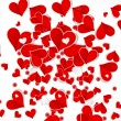 Royalty-Free Stock Vectorafbeeldingen: Abstract Love background with hearts valentine day