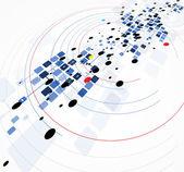 科学未来派互联网高计算机技术业务 — 图库矢量图片