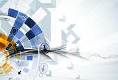 科学未来インターネット高コンピューター技術ビジネス — ストックベクタ