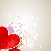 Idea of a Valentines Day Card background — Vector de stock