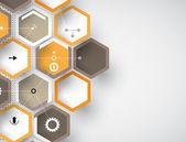 Koncept för nya teknik-företagskunder & utveckling — Stockvektor