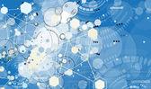 Concept for New Technology Corporate Business & development — Stok Vektör