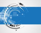 Koncept pro nové technologie podnikatelské & vývoj — Stock vektor