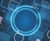 Technology background, idea of global business solution — Zdjęcie stockowe