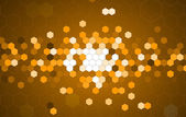Abstract gold hexagon technology information background — Stock Vector