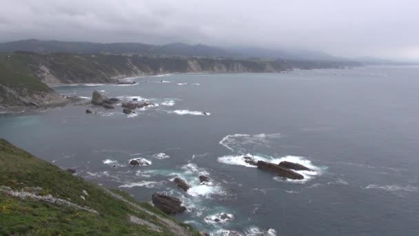 Falaise d'asturias 60 — Vidéo