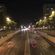 Castellana road night 30 — Stock Video