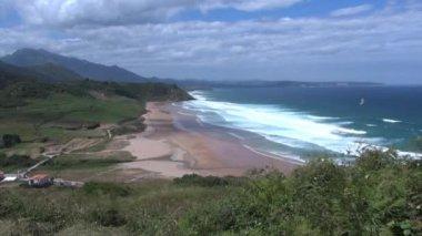 Vega beach fast 30 — Stock Video