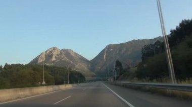 Asturias road 60 — Stock Video