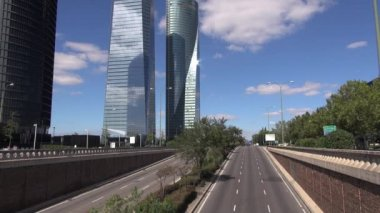 Exit road of Madrid 60 — Stock Video
