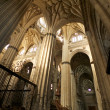 Inside of Salamanca cathedral — Stock Photo