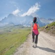 Trekking in Cantabrian mountains — Stock Photo #6589264