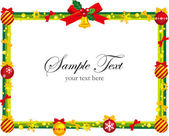 Frame of Christmas — Stock Vector