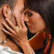 Kissing couple — Stock Photo #12371750