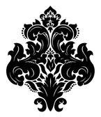 Vector. padrão sem emenda de damasco — Vetorial Stock