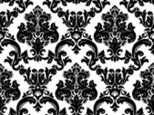 Vector. Seamless damask pattern — Vettoriale Stock