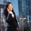 Portrait of a cute business woman — Stock Photo