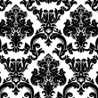 Vector. Seamless damask pattern — Photo