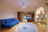 Interior design of a living room — Stock Photo