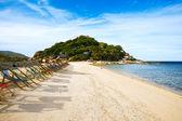 Thailand, Koh Nang Yuan beach and resort — Stock Photo