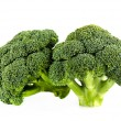 Fresh broccoli isolate on white background — Foto Stock #41611397