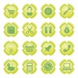 Set of icons for ecommerce — Stock Vector