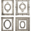 Beautiful ornate frames — Stock Photo #18547161
