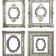 Stock Photo: Beautiful ornate frames